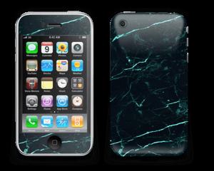Grønn og svart marmor Skin IPhone 3G/3GS