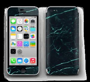 Grønn og svart marmor Skin IPhone 5c
