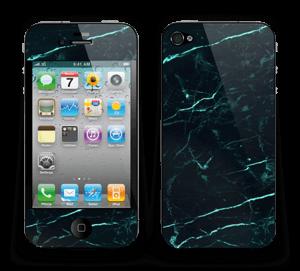 Grønn og svart marmor Skin IPhone 4/4s