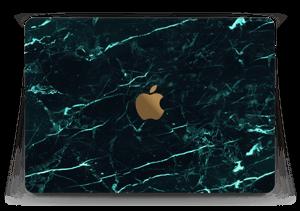 Grønn og svart marmor Skin MacBook 12