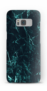 Marmo turchese cover Galaxy S8