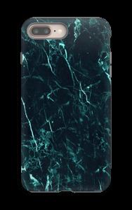 Vihermarmori kuoret IPhone 8 Plus tough