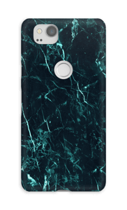 Mármore turquesa Capa Pixel 2