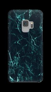 Mármore turquesa Capa Galaxy S9