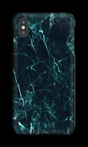 Mármore turquesa Capa IPhone XS Max