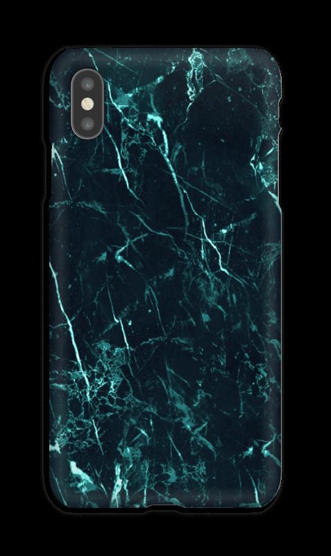 coque iphone xs max marbre vert