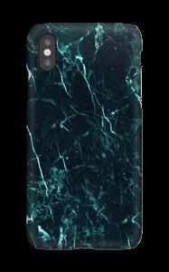 Mármore turquesa Capa IPhone XS