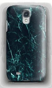 Turkis marmor deksel Galaxy S4