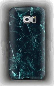 Mármore turquesa Capa Galaxy S6 Edge
