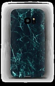 Turkis marmor deksel Galaxy S7 Edge