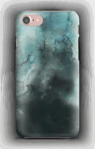 Vannfarger i turkis deksel IPhone 7