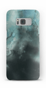 Aquarell in Grün Handyhülle Galaxy S8