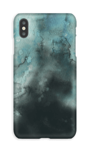 Vannfarger i turkis deksel IPhone XS Max