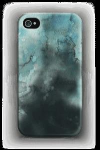 Sinivesiväri kuoret IPhone 4/4s