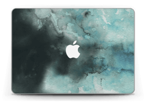 "Aquarell in Grün Skin MacBook Pro Retina 13"" 2015"