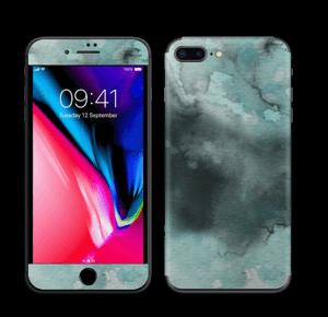 Dempede grågrønne farger Skin IPhone 8 Plus