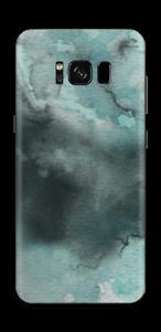Dempede grågrønne farger Skin Galaxy S8