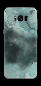 Dempede grågrønne farger Skin Galaxy S8 Plus