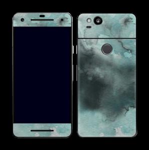 Dempede grågrønne farger Skin Pixel 2