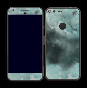 Dempede grågrønne farger Skin Pixel XL