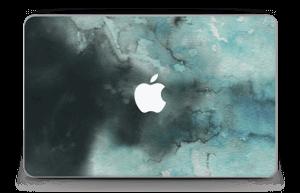 Dempede grågrønne farger Skin MacBook Air 11