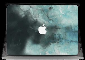 Dempede grågrønne farger Skin MacBook Air 13