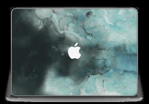 Dempede grågrønne farger Skin MacBook Pro Retina 15