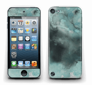 Dempede grågrønne farger Skin IPod Touch 5th Gen
