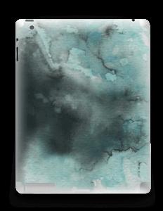 Dempede grågrønne farger Skin IPad 4/3/2