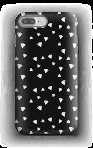 Svarthvite Diamanter deksel IPhone 7 Plus tough