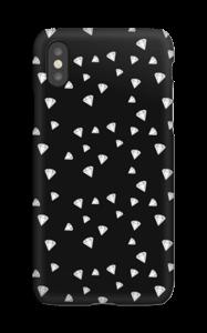 Svarthvite Diamanter deksel IPhone XS