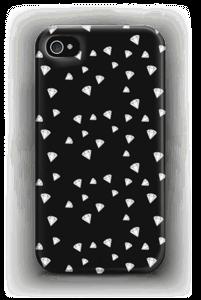 Svarthvite Diamanter deksel IPhone 4/4s