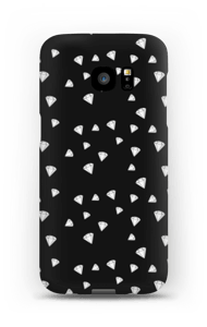 Sorthvide Diamanter cover Galaxy S7 Edge