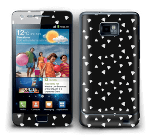Svarte diamanter Skin Galaxy S2