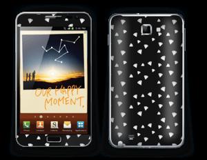 Svarte diamanter Skin Galaxy Note