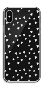 Svarte diamanter Skin IPhone X