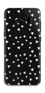 Svarte diamanter Skin Galaxy S8