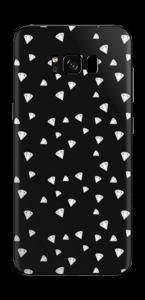 Svarte diamanter Skin Galaxy S8 Plus