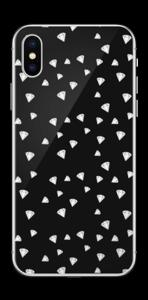 Svarte diamanter Skin IPhone XS