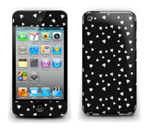 Svarte diamanter Skin IPod Touch 4th Gen
