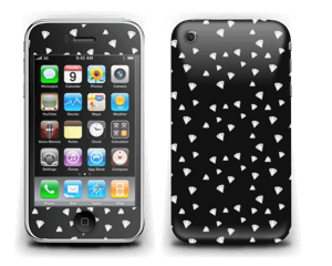 Svarte diamanter Skin IPhone 3G/3GS