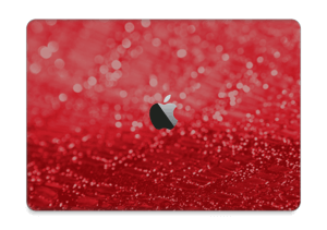 "Paillettes rouges Skin MacBook Pro 13"" 2016-"