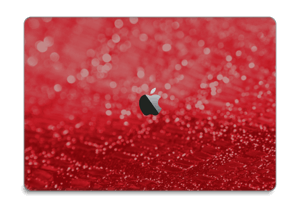 "Paillettes rouges Skin MacBook Pro 15"" 2016-"