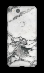 Mármore branco Capa Pixel 2