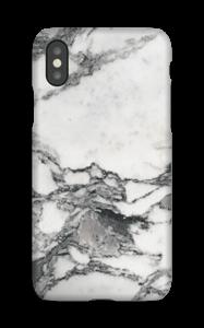 Mármore branco Capa IPhone XS