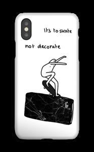 Fuck Marmor deksel IPhone XS