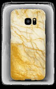 Kultainen marmori kuoret Galaxy S7 Edge