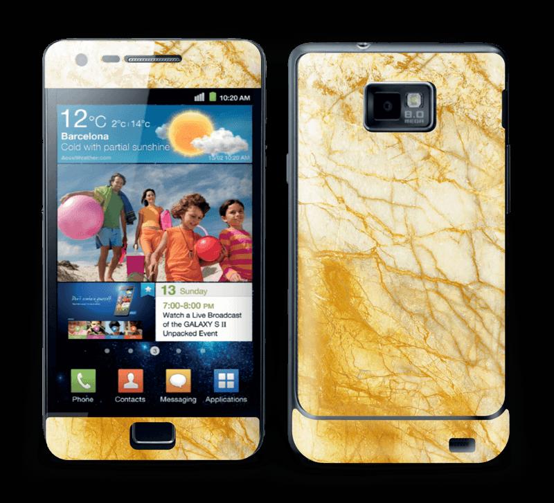 Rust og gull stein Skin Galaxy S2