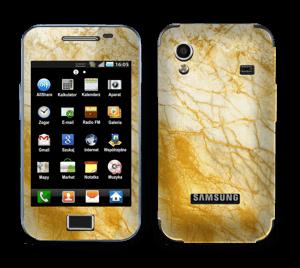 Rust og gull stein Skin Galaxy Ace