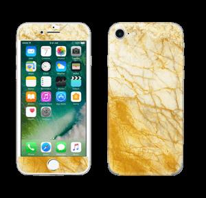 Mármol dorado Vinilos  IPhone 7